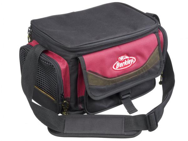 Berkley Gerätetasche mit 4 Köderboxen Rot/Schwarz