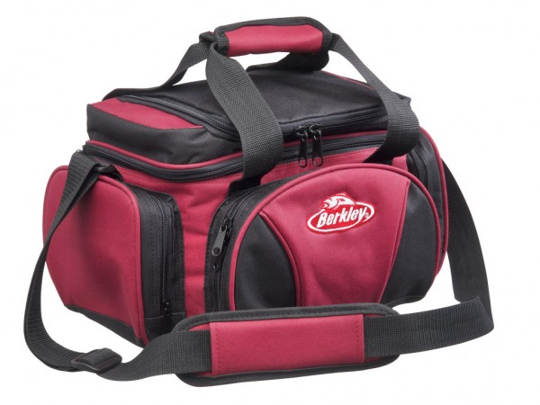 Berkley System Bag L - mit Kühlfach, 4 Boxen - Rot-Schwarz