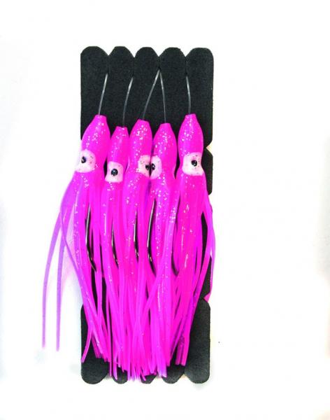 Mustad 80mm Squid - Octopus Einhänger für Fastach System