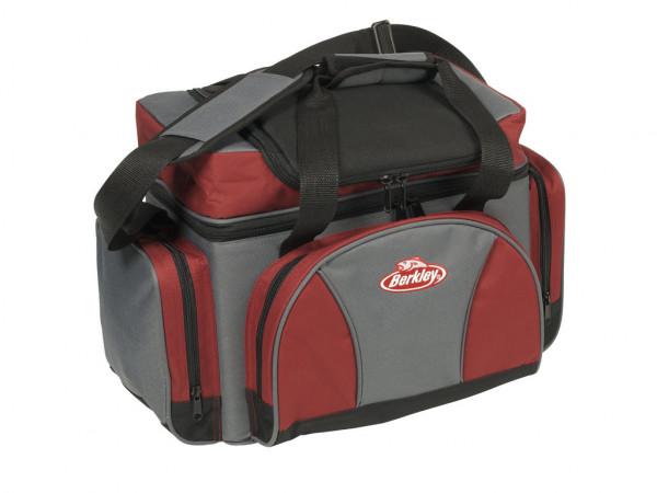 Berkley Storage Bag - Angeltasche incl. 4 Boxen - Rot-Grau