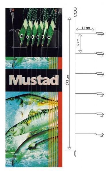 Mustad Piscator X-green Rig T92