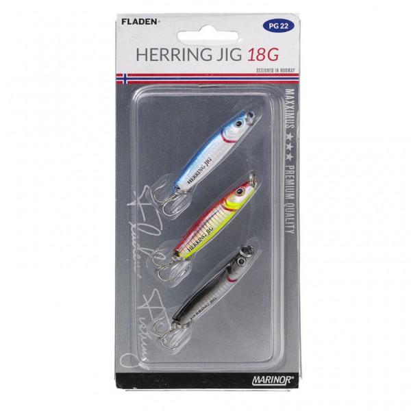 MARINOR Herring Jig - 3-teiliges Pilker-Set