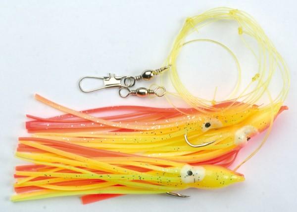AQUANTIC Octopus-System - orange-yellow