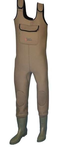 Shakespeare Sigma Neoprene Chest Wader Cleat Sole