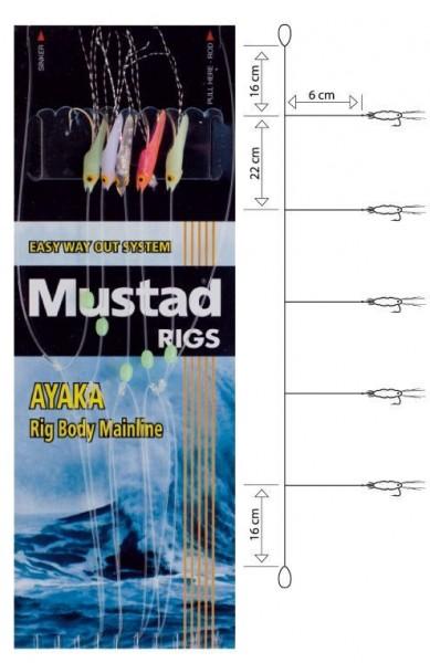 Mustad #4 Shrimp Bait Rig T18/S0967
