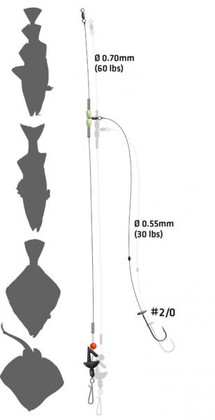 Zebco Ultra Distance Surf Rig - Brandungsvorfach