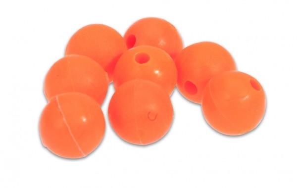 AQUANTIC Red Rubber Beads - rote Gummiperlen