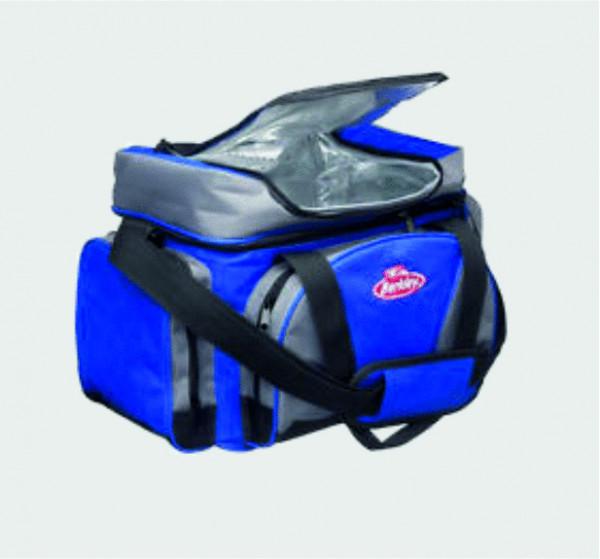 Berkley System Bag L with 4 Bait Boxes - Blue/Grey/Black