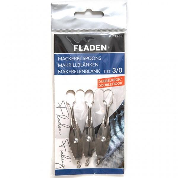 FLADEN Mackerel Spoons with Double Hook
